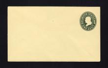 U401 UPSS# 1522-18 1c Green on Amber, die 1, Mint Entire