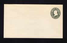 U400 UPSS# 1474-14 1c Green on White, die 1, Mint Entire