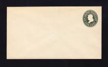 U400 UPSS# 1476-15 1c Green on White, die 1, Mint Entire