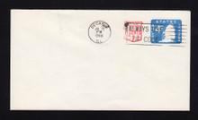 U562 UPSS# 3533-48 2c + 4c Blue, Canceled 1968 Entire