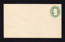 U13 UPSS # 21 6c Green on White, Mint Entire