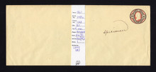 "U45 UPSS # 101 Entire, Manuscript ""Specimen"""