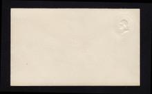 U159 UPSS # 361 3c Green on White, die 1, Mint Entire, ALBINO, Unusual