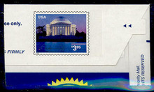 U652 $3.85 Jefferson Memorial, Mint Full Corner