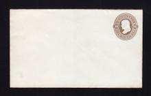 U92 UPSS # 224 10c Brown on Amber, Mint Entire