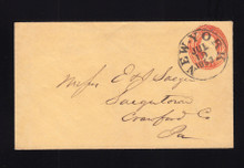 U10 UPSS# 18 Jul 19, 1853 New York Dated CDS, Crystal Palace Expo Cancel
