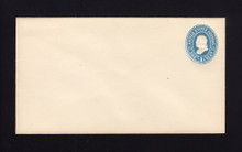 U294 UPSS# 905-12 1c Blue on White, Mint Entire. Spur Variety