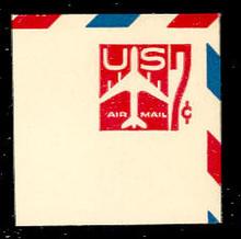 UC34 7c Jet Arliner, Carmine, Mint Full Corner