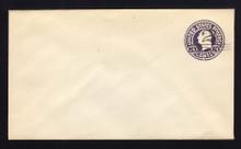 U448 UPSS# 2746-19 2c on 3c Dark Violet on White, die 1, Mint Entire