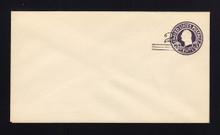 U448a UPSS# 2760-19 2c on 3c Dark Violet on White, die 5, Mint Entire