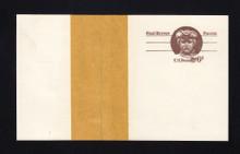 UX58 UPSS# S77PUv-1 6c Paul Revere Mint Postal Card, Paste-up Manila Tape