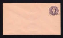 U450a UPSS# 2795-19 2c on 3c Dark Violet on Oriental Buff, die 5, Mint Entire