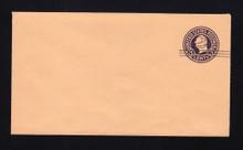 U450a UPSS# 2795-20 2c on 3c Dark Violet on Oriental Buff, die 5, Mint Entire
