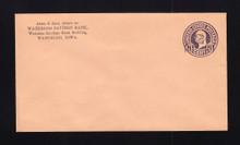 U470a UPSS# 3005-19 2c on 3c Dark Violet on Oriental Buff, die 5, Mint Entire