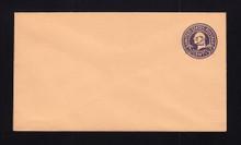U470a UPSS# 3005-20 2c on 3c Dark Violet on Oriental Buff, die 5, Mint Entire