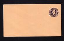 U460 UPSS# 2901-19 2c on 3c Dark Violet on Oriental Buff, die 5, Mint Entire