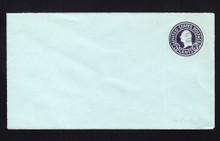 U461 UPSS# 2905-20 2c on 3c Dark Violet on Blue, die 1, Mint Entire