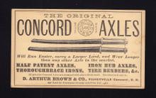 UX3 Concord, NH Concord Axles