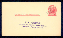 UX32 UPSS# S44-26, Minneapolis Surcharge, Preprinted Postal Card