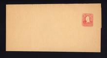 W399 UPSS# 1472 2c Carmine on Manila, Mint Folded Wrapper