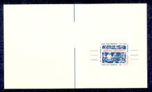 UX51 UPSS# S69 4c Social Security Miscut Mint Postal Card