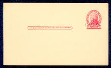 UX33 UPSS# S45-3, Binghampton Surcharge, Mint Postal Card