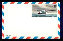 UXC22 UPSS# SA21 33c China Clipper Mint Postal Card