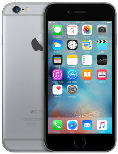 iPhone 6 128gb unlocked for any GSM sim card worldwide.