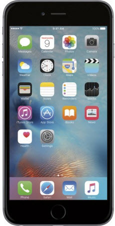 "iPhone 6 Plus with 5.5"" screen Unlocked for any GSM network worldwide."
