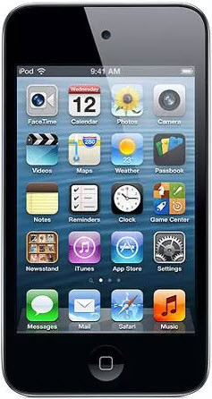 4th Generation iPod Touch 32GB Black A1367