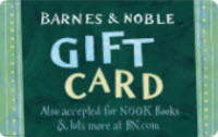 Barnes and Noble Booksellers Gift Card
