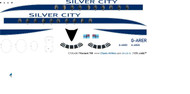 1/96 Scale Decal Silver City Viscount 700