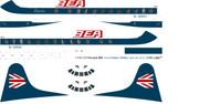 1/96 Scale Decal BEA Speekjack Viscount 800