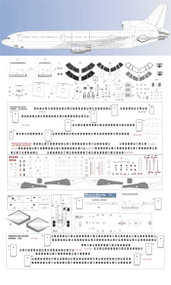 1/100 Scale Decal Detail Sheet L-1011