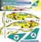 1/144 Scale Decal AeroSur 747-400 Super Torisimo