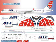 1/144 Scale Decal ATI - Air Transport International 757F