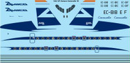 1/144 Scale Decal Aviaco Caravelle