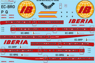 1/144 Scale Decal Iberia Boeing 747-156 / 256