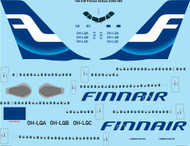 1/144 Scale Decal Finnair Airbus A340-300