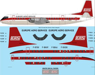 1/144 Scale Decal EAS Vickers Vanguard