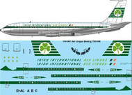 1/144 Scale Decal Aer Lingus B-720 laser decal