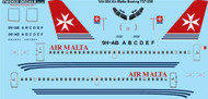1/144 Scale Decal Air Malta Boeing 737-200