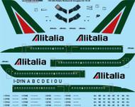 1/144 Scale Decal Alitalia McDonnell Douglas DC-10-30