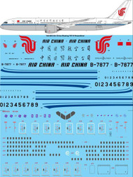 1/144 Scale Decal Air China Boeing 787-9