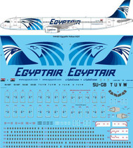 1/144 Scale Decal Egypt Air Airbus A321-231
