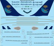 1/144 Scale Decal Saudi Arabian Airbus A330-300