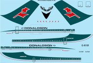 1/144 Scale Decal Donaldson Boeing 707-321