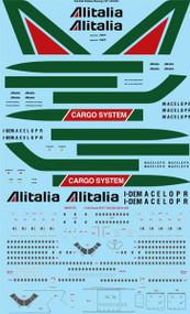 1/144 Scale Decal Alitalia Boeing 747-143/243/243F