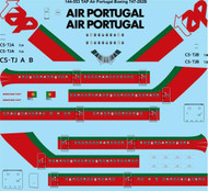 1/144 Scale Decal TAP Air Portugal Boeing 747-282B