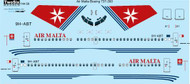 1/144 Scale Decal Air Malta Boeing 737-300